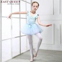 Girls children Ballet dance Tutu dress o neck princess dress girl dance clothing kids Ballet costumes For girls DD235 F