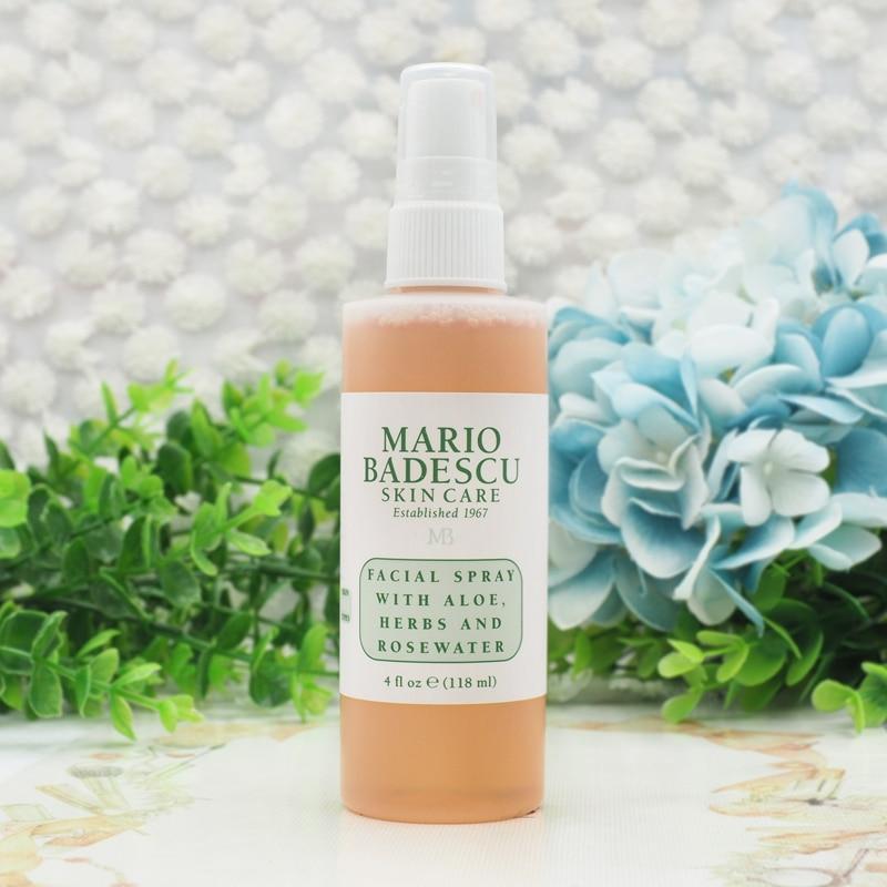 Mario Badescu Facial Spray With Aloe Herbs And Rosewater 4 Oz