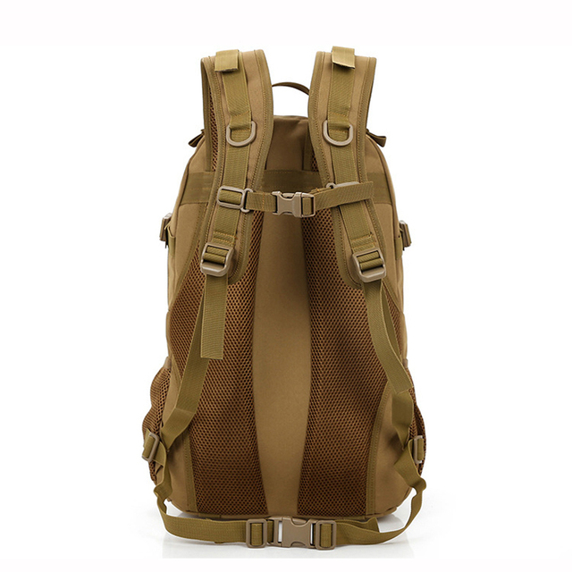 MAGIC UNION Men and Women Unisex Military Backpack Canvas Bag Trekking Rucksacks 40L Backpacks Men Backpacks Men Bags Fashion 3