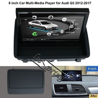 8 inch Android 6.0 Car Multimedia Player for Audi Q3 2012 2017 with GPS Navigation MP5 Wifi