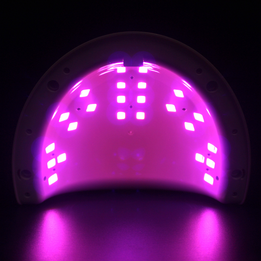 Red Light Nail Dryer 60W Ultraviolet 24 LEDs Lamp For Gel Nail Polish UV Lamp Curing Gel Polish Manicure Drying Nail Art Tool 36w nail dryer sun8se uv led nail lamp sunlight nail gel dryer lcd display curing gel polish manicure drying lamp nail art tool