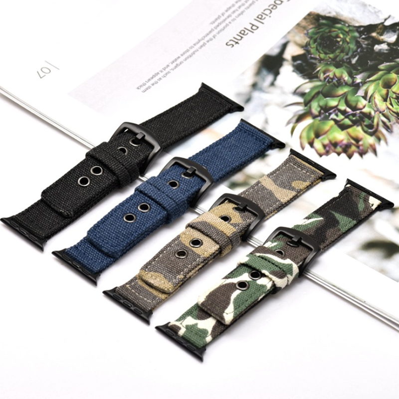 Sport Nylon strap for apple watch 4 band 44mm 40mm correa iwatch series 3 2 1 42mm 38mm Camouflage canvas wrist bracelet beltSport Nylon strap for apple watch 4 band 44mm 40mm correa iwatch series 3 2 1 42mm 38mm Camouflage canvas wrist bracelet belt