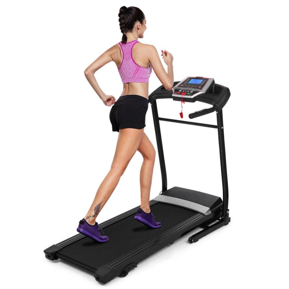 ANCHEER Nouveau Pliant Support Électrique Motorisé Puissance Running Fitness Jogging Tapis Roulant