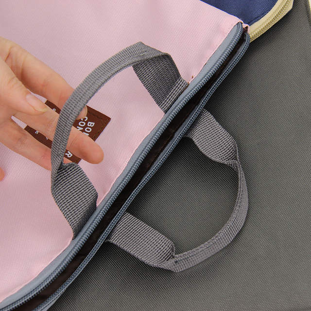 A4 Oxford File Folder Bag Men Portable Office Supplies Organizer Bags  Casual Ladies Tote Office School 676fa315e8d52