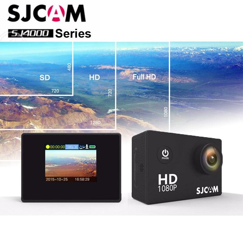 Оригинальный SJCAM SJ4000 серии 1080 P 2,0 ЖК-дисплей Full HD Действие Камера SJ4000/SJ4000AIR/SJ4000 WI-FI Водонепроницаемый Спорт Камера/DV
