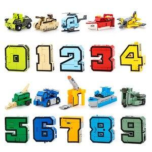 Image 3 - 10 Chiếc Biến Đổi Số Robot Biến Dạng Nhân Vật Brinquedos Thành Phố Tự Sáng Tạo Xây Dựng Khối Lắp Ráp Bạn Bè Đồ Chơi Trẻ Em