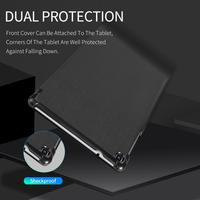 galaxy tab For Samsung Galaxy Tab A 8.0 2019 SM-P200 P205 Case Hard PC Leather Stand Samsung Tab S5E T720 10.5 2019 Smart Case Cover (2)