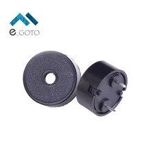 10 шт. пьезоэлектрический Piezo пассивные электронные зуммер Динамик 14*7 громко Динамик 1407 5 В 14×7 мм 4 кГц 2ma черный