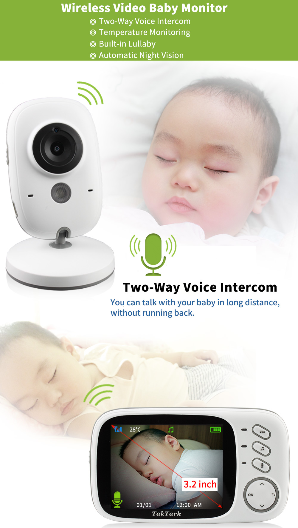 Wireless Video Baby Monitor - Beyond Baby Talk