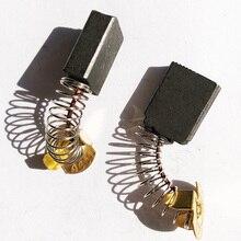 цена на JLI 10 Pairs Carbone Brosse 6.5*13*17mm For Polishing Machine Electric Planer Power Tool Drill Carbon Brush Part Accessories