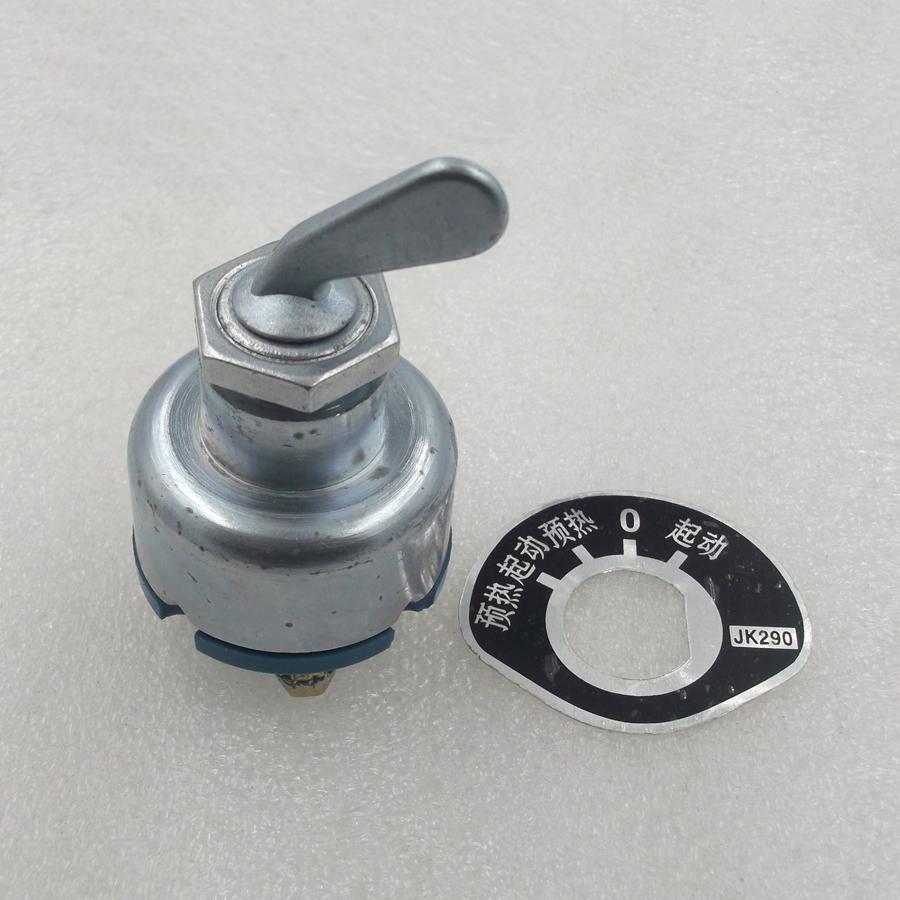 JK290 voorverwarmen schakelaar vorkheftruck Boerderij voertuig/uitgangspunt ontsteking/