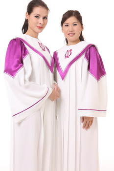 Christian Clothing for adults psalm robes long church Gown High quality good materials Church Choir gown Robe