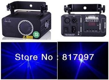 Verkaufen 500 mW Blau Laserlicht Effektlaser Lazer Projektör 450nm Işık DJ Disko Konzert Partei Hochzeit Kostenloser Versand