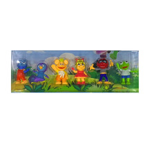 6pcs/lot muppet babies PVC Toys Doll Action Figure For childrens birthday gift 8-9cm