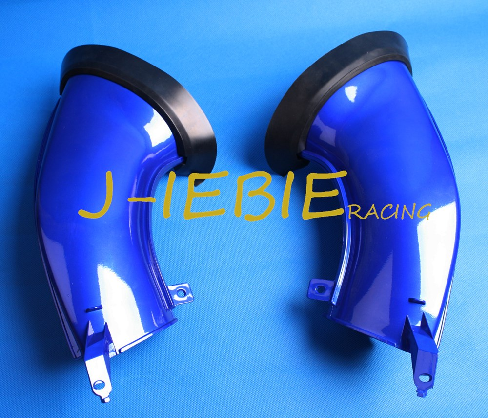 Blue Ram Air Intake Tube Duct Black For Yamaha YZF R1 2007 2008 new motorcycle ram air intake tube duct for yamaha yzf r1 2007 2008 high quality black abs plastic