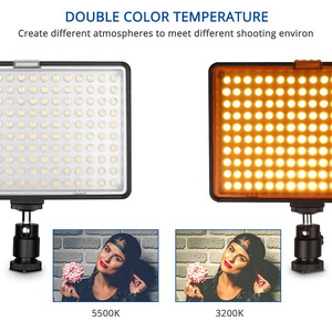 Image 3 - capsaver TL 160S 2 Sets LED Video Light Camera Light Photographic Lighting with Tripod Stand Video Lamp for Youtube Photo Shoot