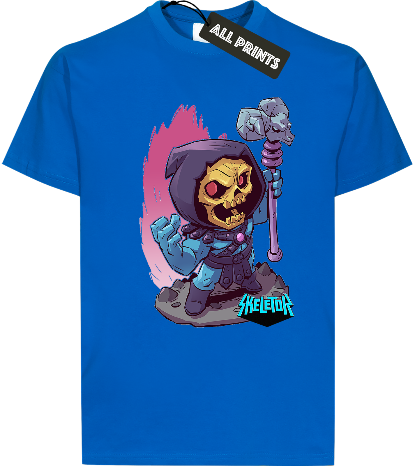 MASTERS OF THE UNIVERSE He-Man skeletor unisex T-Shirt Tee ALL COLOURS heman03tStreetwear Funny Print Clothing Hip-Tope Mans
