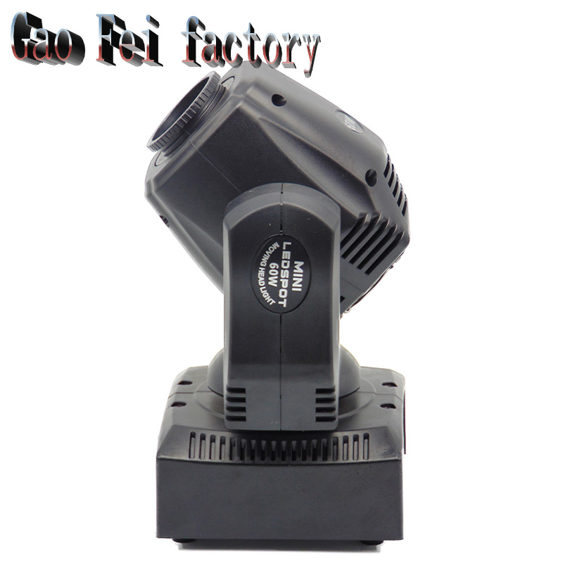 цены 60W Moving head light DMX DJ Disco Party Wedding Stage Effect Fixture 60W White LED Spot Moving Head Light