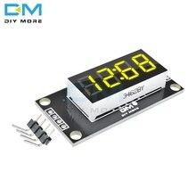 TM1637 4-разрядный светодиодный 0,36 ''Дисплей модуль 7 сегментов Дисплей цифровая трубка с часами и знака после запятой