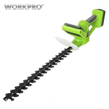 WORKPRO 18V Electric Trimmer Lithium-ion Cordless Hedge Trimmer Rechargeable Weeding Shear - DISCOUNT ITEM  45% OFF All Category