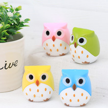 32 pcs/lot Owl Rabbit pencil sharpener Cute Dinosaur Double hole hand mechanical Cutter Knife stationery gift school supplies