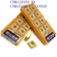 קרביד הכנס הפיכת כלי 20PCS CNC מחרטה כלי CNMG120404 / CNMG431 MA VP15TF / UE6020 חיצוניים הפיכת כלי, קרביד הכנס כרסום הכנס (5)
