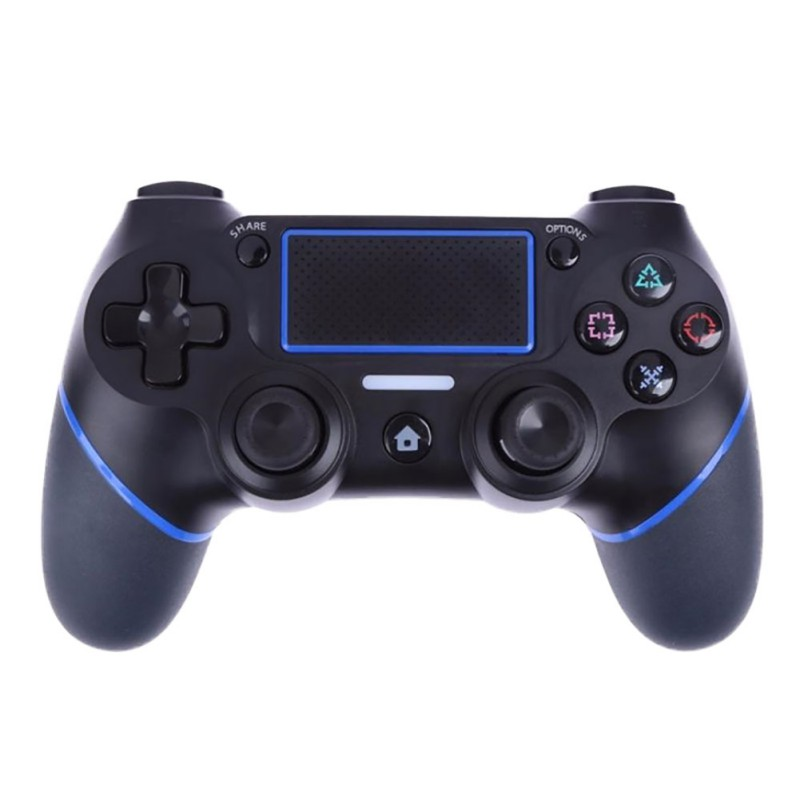 New Arrival Black Wireless Bluetooth Game Controller Touch Screen Gamepads Console Pad For Playstation 4