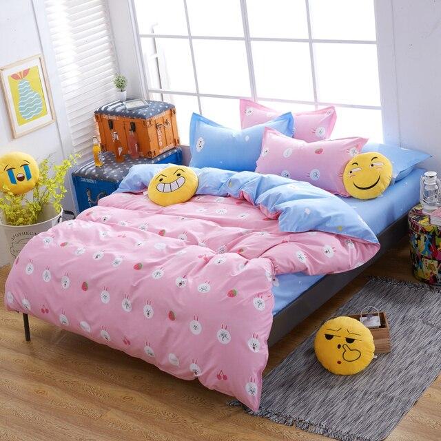Extrêmement Enfants kawaii ensemble de literie feuille lit vêtements couette  NU59