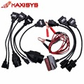 Newest OBD2 TCS CDP Cables full set 8 car cables of car For tcs pro plus Car Cable diagnostic Tool Interface cable free shipping