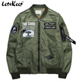 2016 New Military bomber jacket coats men air force army jacket outerwear mens windbreaker baseball Autumn Winter Jackets,MA199
