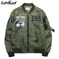 2016 Nova casacos homens air force one jaqueta do exército jaqueta Militar outerwear mens blusão de beisebol Jaquetas de Outono, MA199