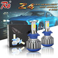R8 High Power Z4 40W 4000LM Car Headlight Foglight LED Bulb Lamp 4 COB H7 H8 H11 9005 9006 H16 5202 9012 Models 6500K White