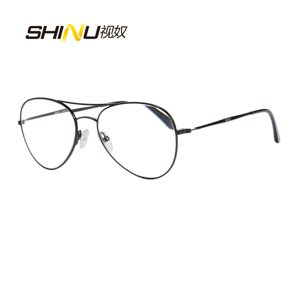 089ff8c96b57 SHINU Brand Progressive Multifocal Lens Reading Glasses Women Men Bifocal  See Near And Far Presbyopia Eyeglasses Diopter Eyewear-in Reading Glasses  from ...