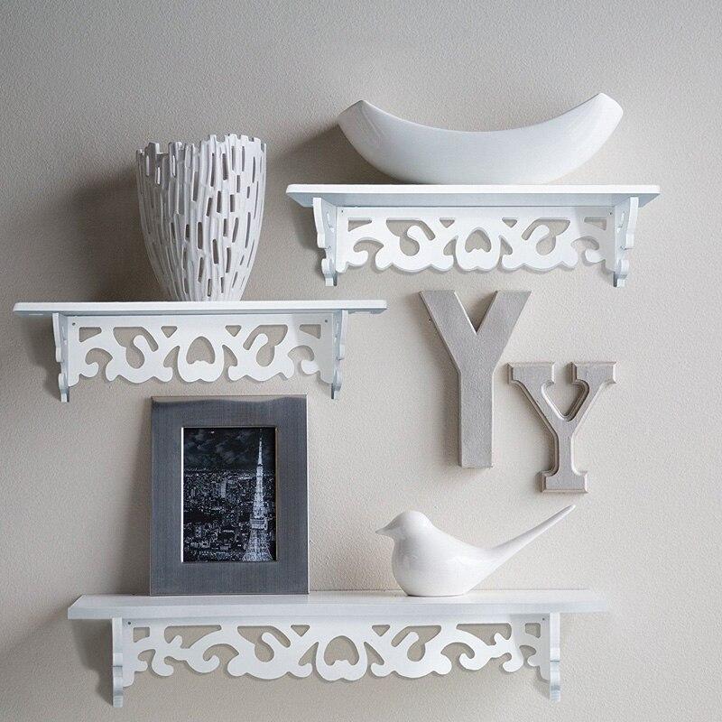 SOLEDI полый стеллаж для хранения полки дерево Удобный домашний декор Органайзер подвесной держатель для хранения ванная комната туалетные принадлежности