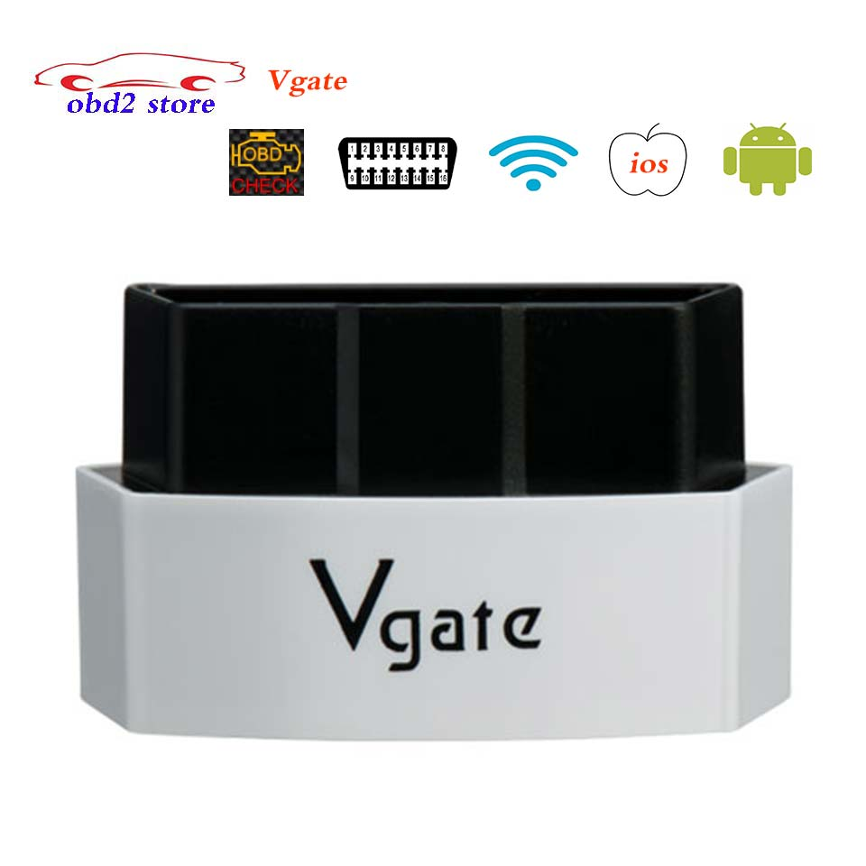 Vgate iCar3 Wi-fi ELM327 Wifi OBD2 Car Diagnostic Scanner iCar 3 elm 327 OBDII Obd 2 Auto Diagnostic Tool For iOS/Android/PC vgate icar2 elm327 bluetooth obdii obd2 car diagnostic tool icar 2 elm 327 obd 2 ii scanner for android pc auto diagnostic tool