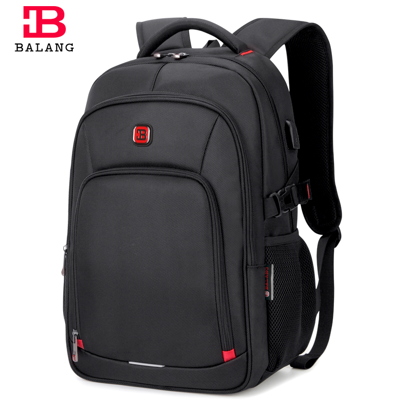 BALANG Brand 2018 Men's Laptop Backpack Male Luggage Shoulder Bag Teenagers School Waterproof Backpacks Business Travel Bags