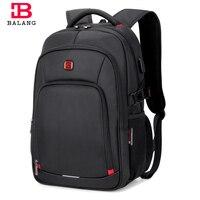 BALANG Brand 2019 Men's Laptop Backpack Male Luggage Shoulder Bag Teenagers School Waterproof Backpacks Business Travel Bags