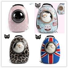 New style Portable Space Capsule Breathable Dog and Cat Carrier Bag Fashion Pet Backpack in Outdoor