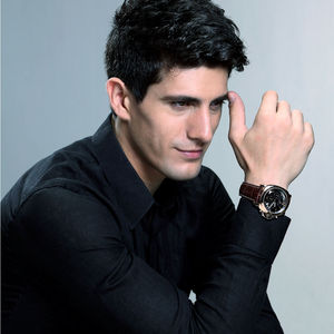 Image 3 - Megir 3006 mens fashion quartz watch waterproof wristwatch genuine leather strap watches man free shipping