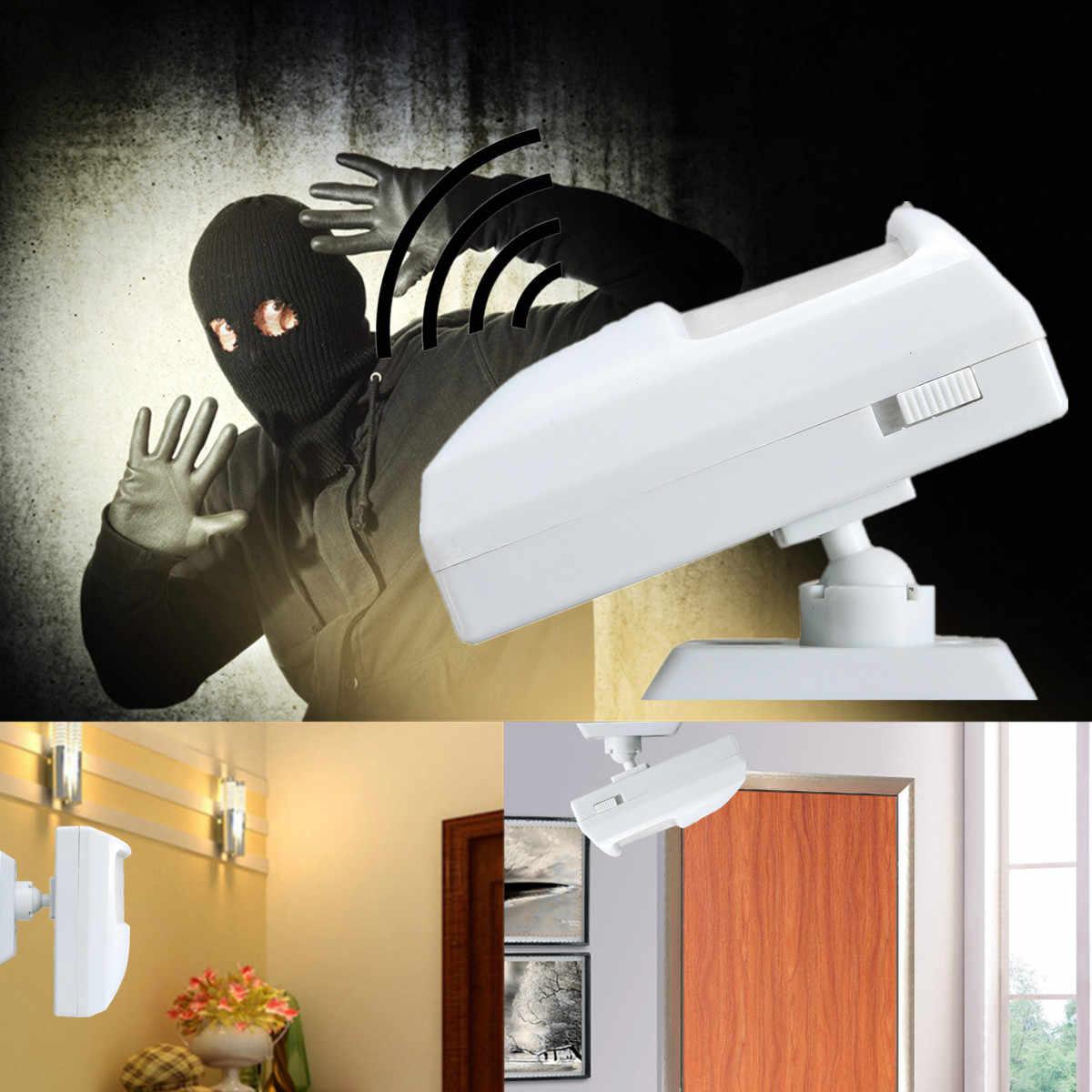 90 дБ громкий охранный инфракрасный датчик движения Детектор PIR сигнализация домашний сарай гараж для домашней двери/окна датчик безопасности