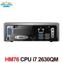 2017 дешевые мини-сервер компьютер с Intel Quad Core i7 2630QM 2.0 ГГц 8 потоков компьютер мини Linux 8 г Оперативная память 64 г SSD