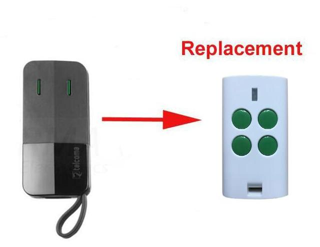 Telcoma Fm402 Replacement Remote Control Garage Door Opener Clone