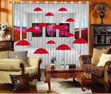 fashion 3d curtains window curtain living room extend 3d stereoscopic model home curtains curtains living room window custom 3d curtains 3d window curtains Creative umbrella curtains for living room home goods curtains