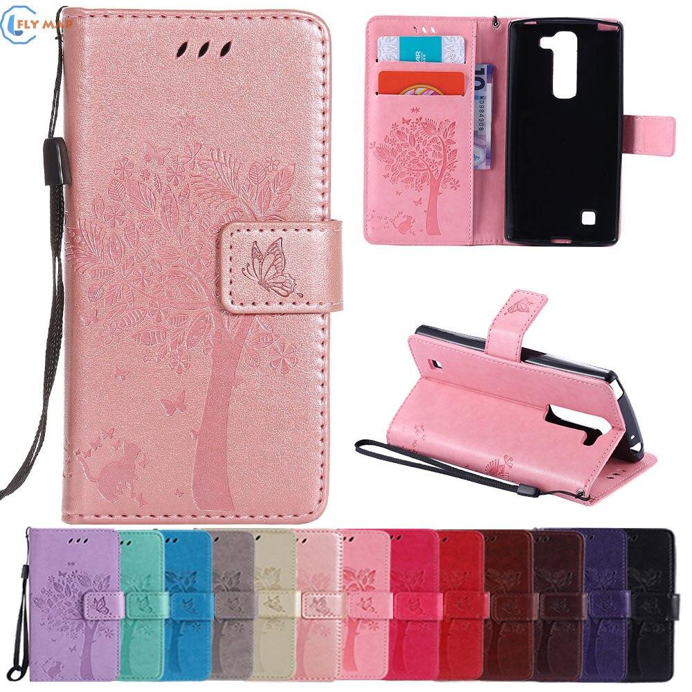 Coque Pour LG G4 C G 4C H522y H522 TPU Portefeuille Shell Flip Mobile Téléphone Housse En Cuir Pour LG g4C T540 C90 H502f H525ntr Capa