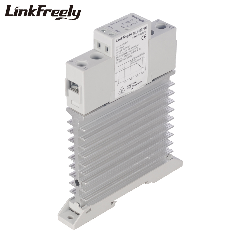 TRD600D25M Integrated Solid State Relay SSR 25A DC To DC In 5V 12V 24V DC Out