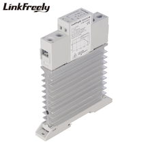 TRD600D25M Integrated Solid State Relay SSR 25A DC To In 5V 12V 24V Out 24-600V Heat Sink Module Din Rail