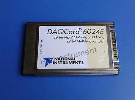 Used 100% Test NI DAQCard 6024E multifunction data acquisition card NI DAQ 6024