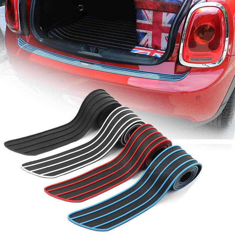 Rear bumper rubber edge protection For MINI cooper COUNTRYMAN R55 R56 R57 R60 F54 F55 F56 F60 car styling lip bumper