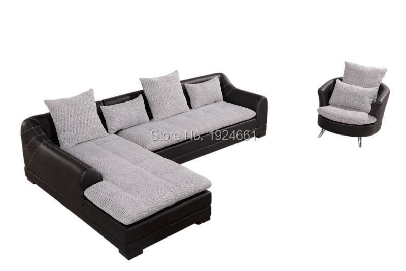 Bean Bag Armchair Design Living Room Classic European Furniture Corner Wooden Sofa Sets Sillones Modernos Sectional Sofa