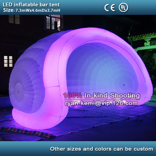 giant portable inflatable bar tent with LED inflatable dome tent color changing LED inflatable events tent & giant portable inflatable bar tent with LED inflatable dome tent ...